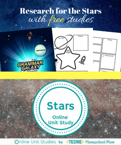 Research for the Stars free unit study
