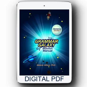 Grammar Galaxy Protostar Digital Mission Manual (Volume 2)