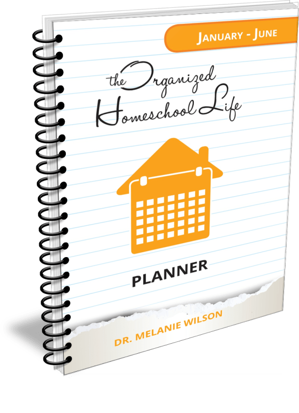 The Organized Homeschool Life Planner Print January to June