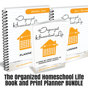 The Organized Homeschool Life Book and Planner Print Bundle