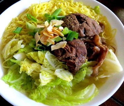 Pinoy Beef Mami (Beef Noodle Soup) Recipe by Shalina ...