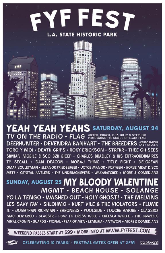 FYF Fest 2013 Poster