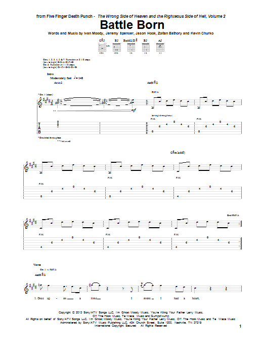 The House Of Rising Sun Chords