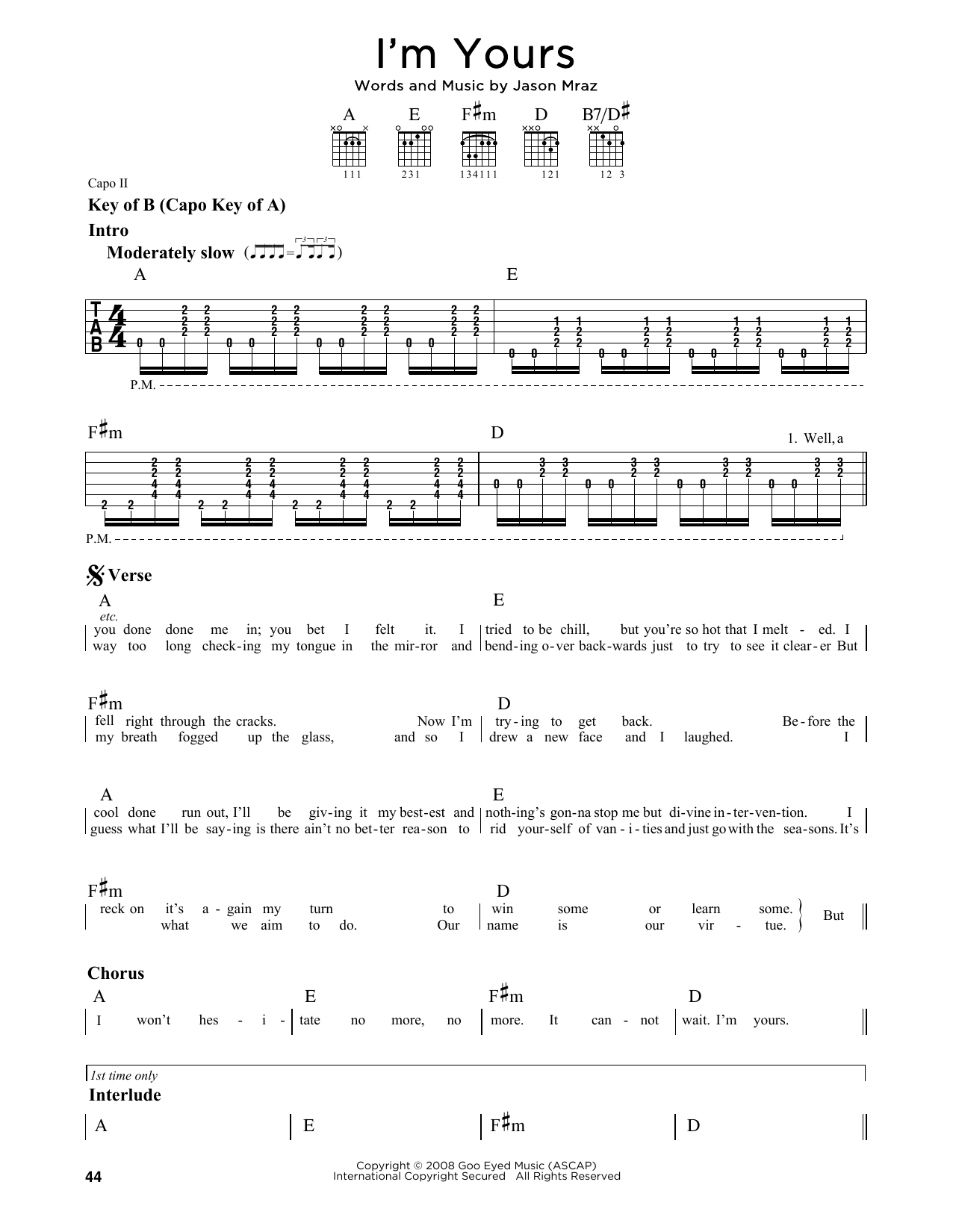 Guitar Chord Melody Transcriptions Pdf