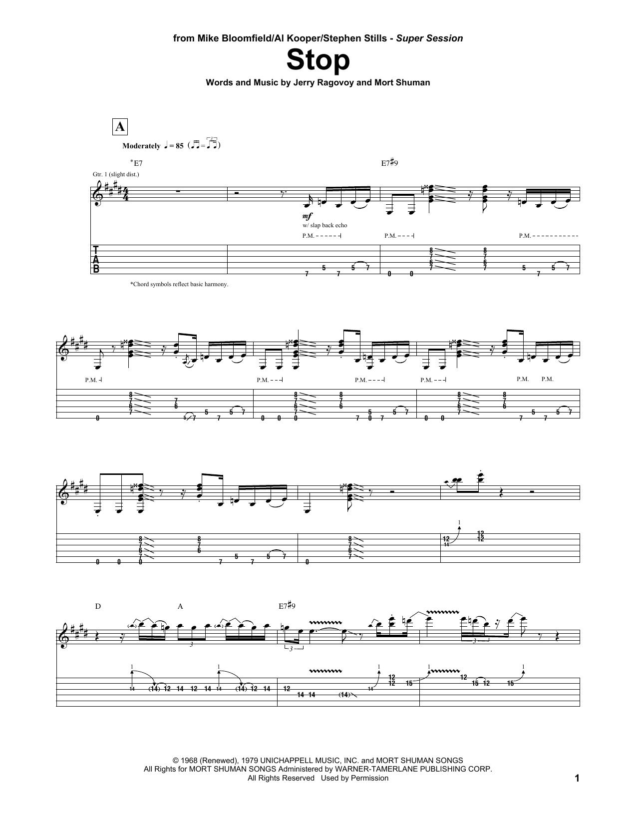 Stephen Stills Guitar Chords
