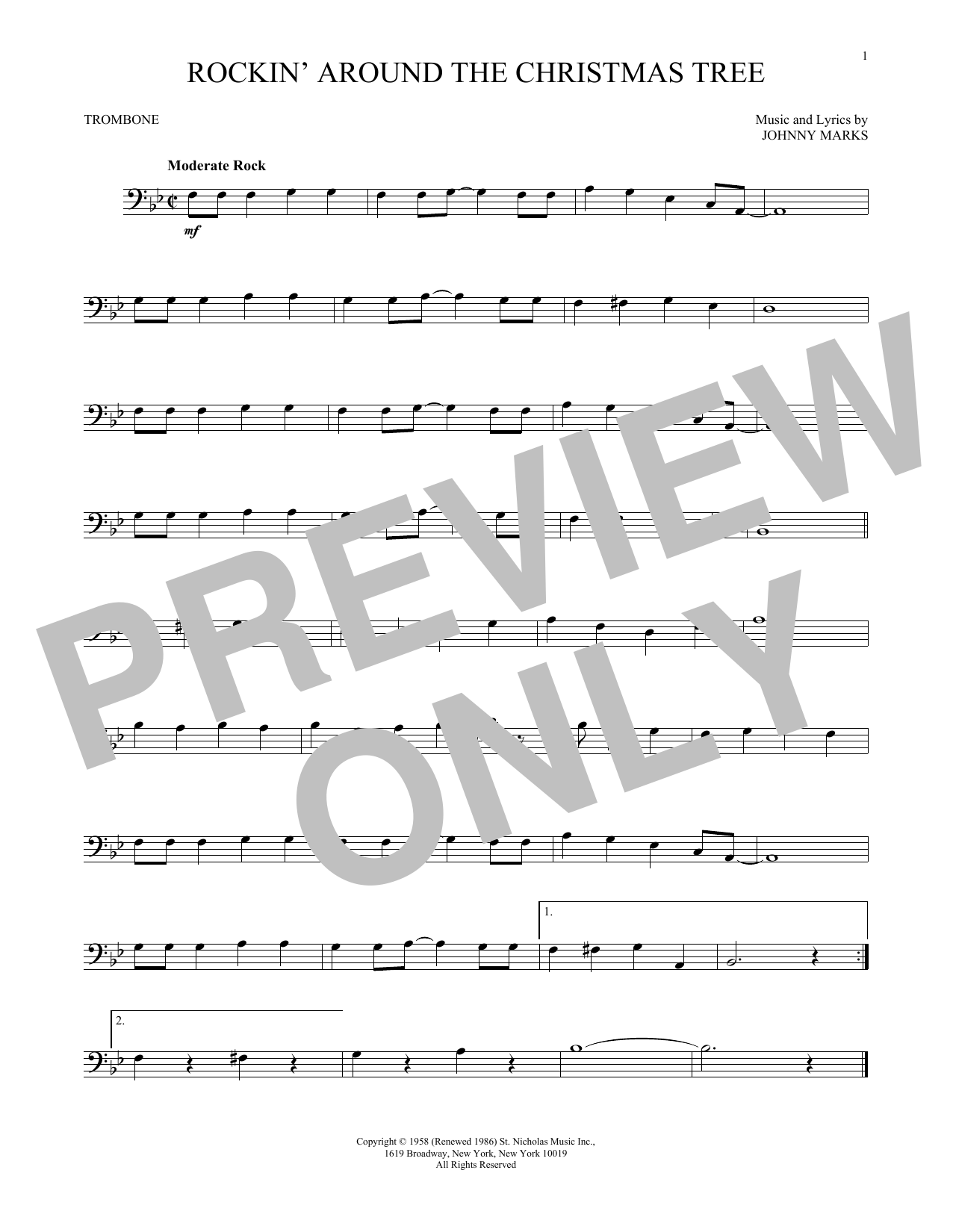 Run Run Rudolph Sheet Music
