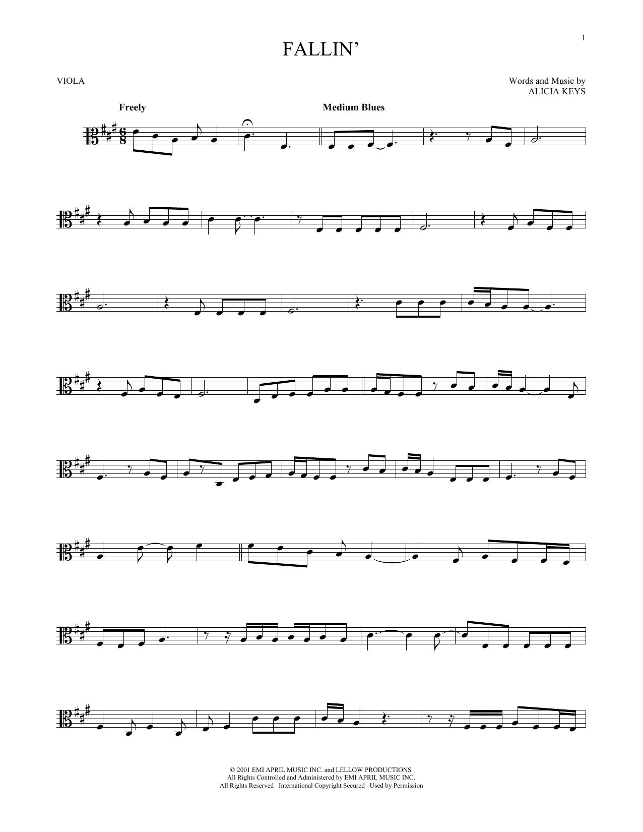 Alicia Keys Fallin Trombone