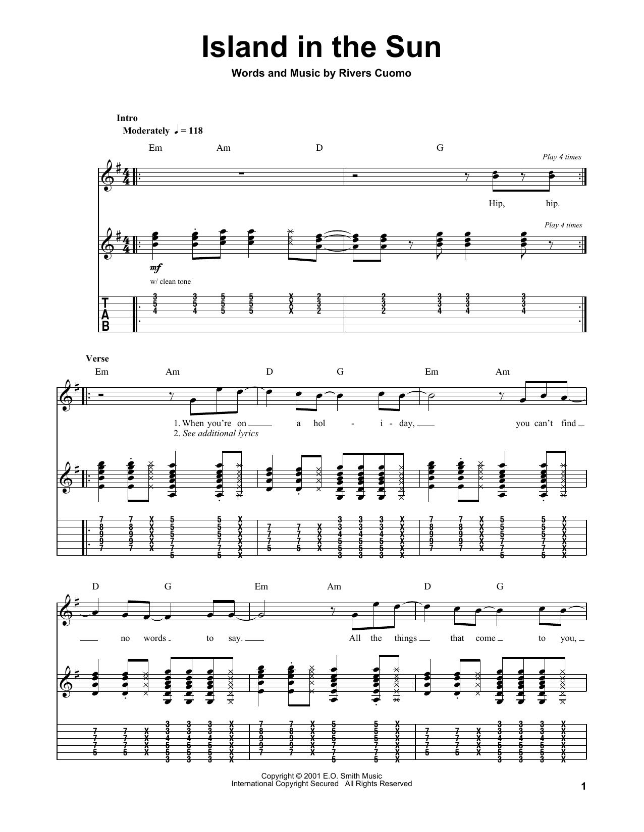 Enchanting Weezer Chords Mold Song Chords Images Apa Montrealfo