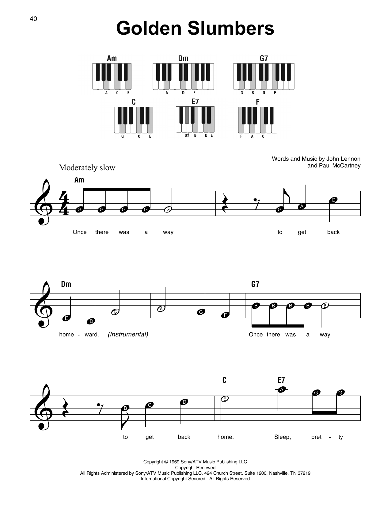 Here Comes The Sun Guitar Chords