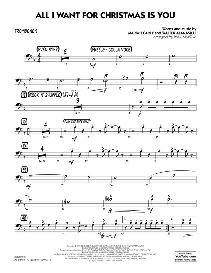 All I Want For Christmas Piano Sheet Music Free Pdf | Christmaswalls.co