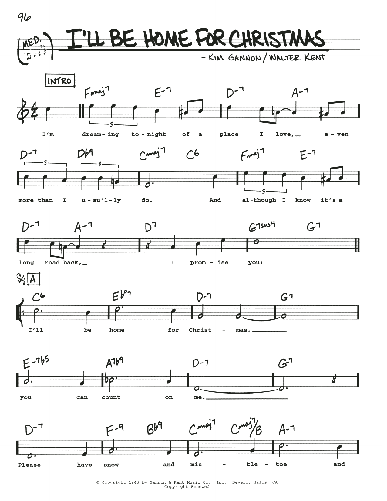 Ill Be Home For Christmas Ukulele Sheet Music