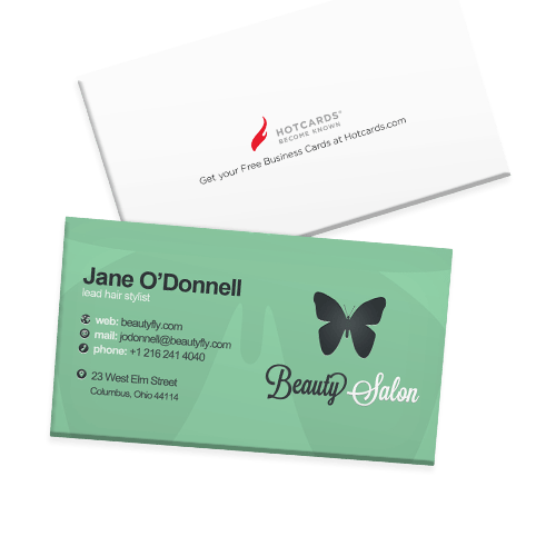 Free business cards custom business card printing design online online business cards reheart Gallery