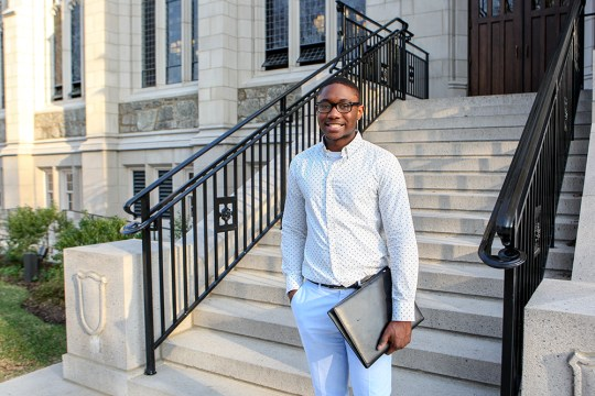 BC Senior Loic Assobmo Works On App Connecting Patients To Doctors In Rural Africa