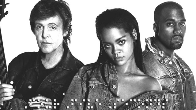 Kanye West Reveals 'FourFiveSeconds,' And More Singles This Week