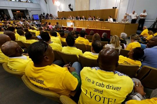Uber, Lyft, And Boston Cabbies Face Off Through Legislation