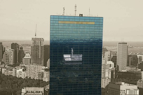 What Does The Mural On Boston's Tallest Building Mean For The City?