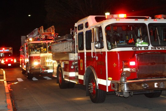 Electrical Fire On College Road Brings Several Fire Trucks, Ambulances
