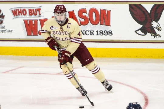 Teddy Doherty Nets Two Goals In BC's Ninth Straight Win