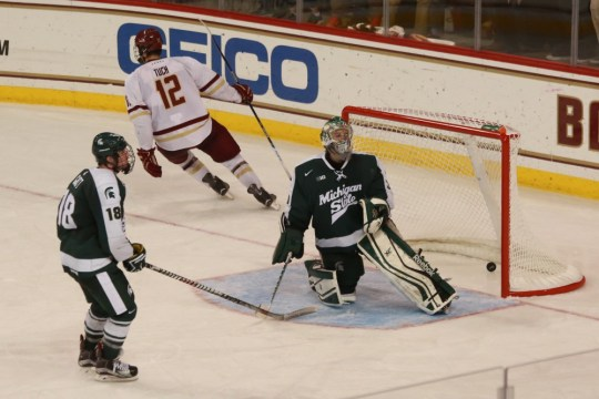 BC Beats Michigan State, But Defense Goes Missing In Final Minutes