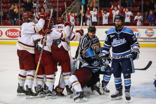 BC Outmuscles Maine En Route To Weekend Sweep