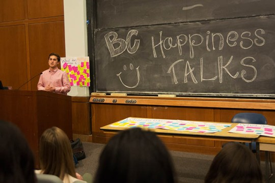 To Spread Authenticity, Happiness Project Comes to BC for the Second Year