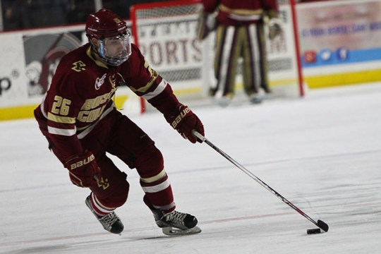 Eagles Get Revenge Over Notre Dame as Demko Ties Shutout Record