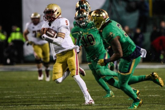 With ACC's Release, 2016 BC Football Schedule Finalized