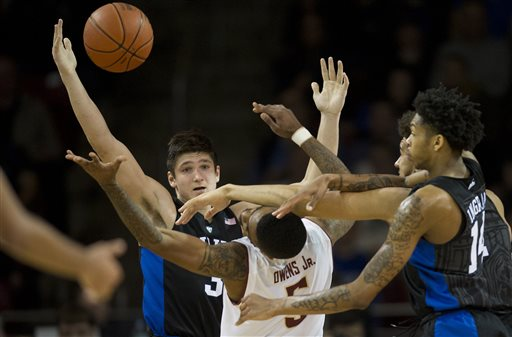 Eagles Put Up Strong Effort But Fall To No. 15 Duke