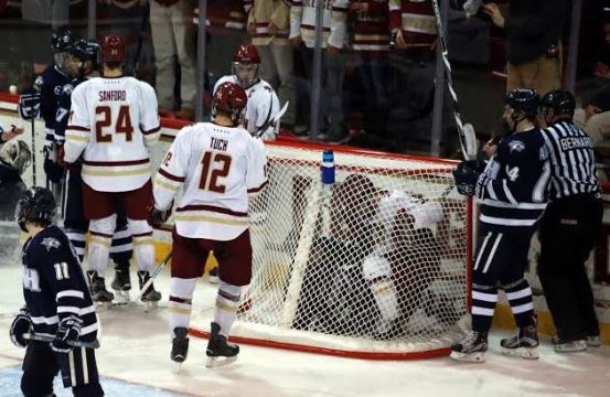 Last Play of the Game Key to BC's Win Over UNH