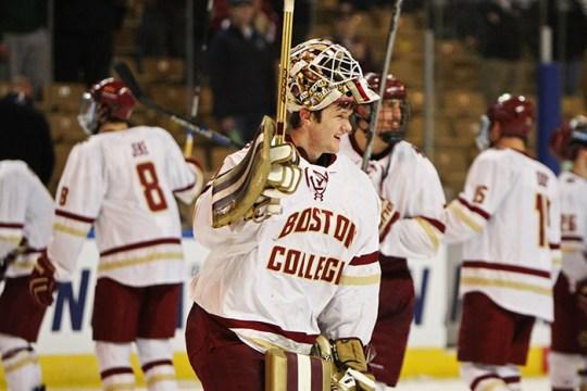 Boston College Advances to 25th Frozen Four in Program History