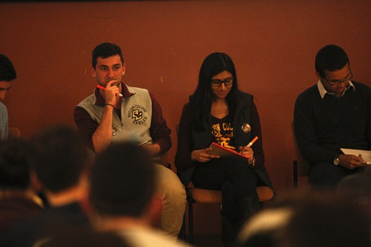 UGBC Presidential Campaigns Share Platforms, Goals at Elections Kickoff