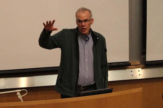 McKibben Encourages Student Activism to Raise Awareness for Climate Change