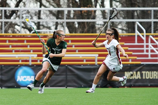 Kenzie Kent Dominates as Lacrosse Defeats Dartmouth