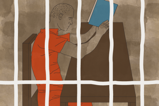 Learning a Lesson Behind Prison Walls