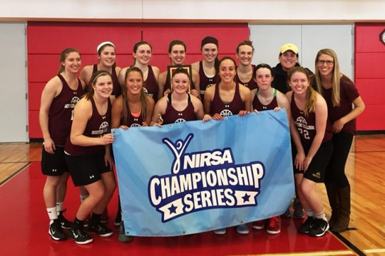 For New BC Women's Club Basketball Team, a Shot at a National Title