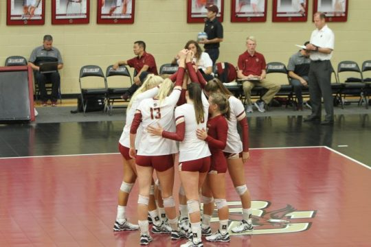 Volleyball Drops Weekend Matches Against Harvard, Northeastern