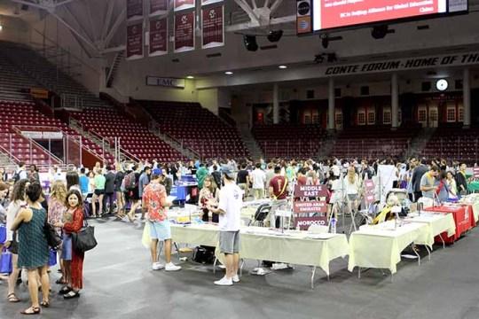 Study Abroad Fair Showcases an Evolving Office of International Programs