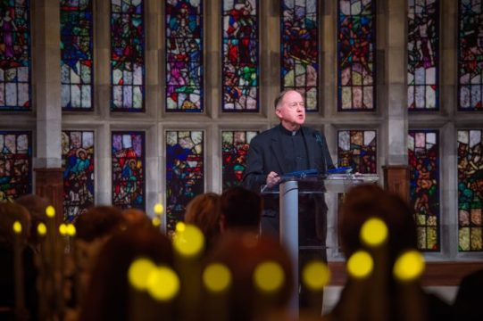 Benefactors Attended a Gala to Close out Light the World Campaign