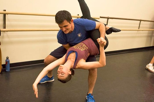 Feet Pivot and Hearts Pulse for Full Swing Dance Crew