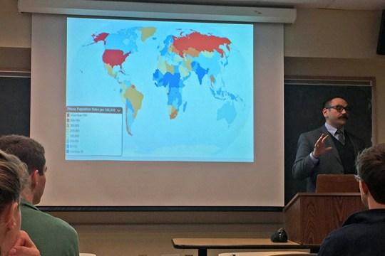 D'Amico Looks at Mass Incarceration Rates Around the World