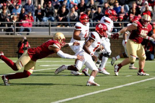 Lamar Jackson Burns Boston College Secondary, Louisville Rolls to Victory