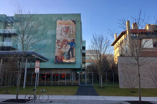 """""""I Need a Hero"""" Mural Introduces Female Heroine to the Gardner Museum"""