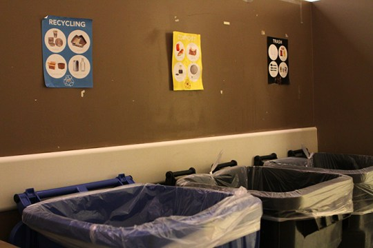 BC Dining and Student Groups Partner to Compost in Mac