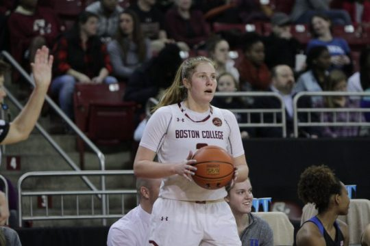 BC's Slow Start, Shooting Woes Allow Louisville to Cruise to Victory