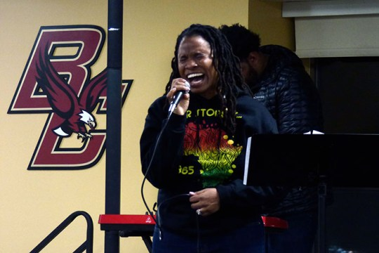 Music Fills the Air at First Event of Black History Month