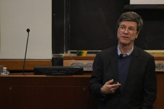 Poverty is Caused by a Failure of Ethics, Not Economy, Sachs Says