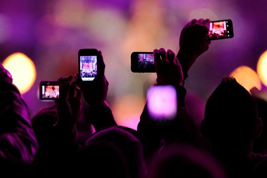 A Concerted Effort: Phones and the Concert Experience