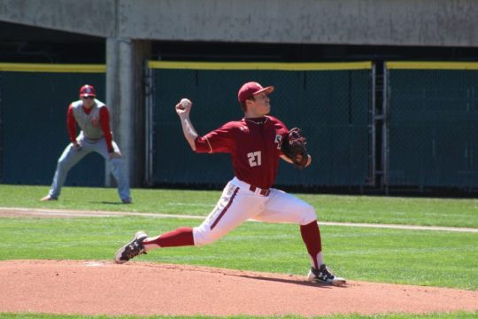 Rapp Tosses Shutout to Complete Sweep of NC State