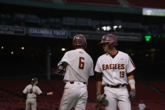 In ALS Awareness Game, Eagles Cruise Past NC State at Fenway