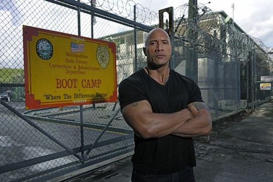 The Rock Serves Up Discipline to Criminals in 'Rock and a Hard Place'